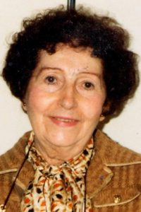 Germaine Lacaze en 1985