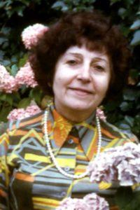 Germaine Lacaze en 1974